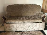 SOFA BED METAL ACTION (OPEN TO OFFERS)