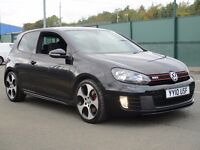 "2010 Volkswagen Golf 2.0 TSI GTI 3dr - SAT NAV - 18"" MONZA ALLOYS - F.S.H - PART EX - FINANCE"