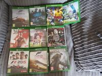 Xbox one games £8 Each or 3 For £20 Can Deliver
