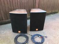 JBL Marquis MS115 speakers & Amp