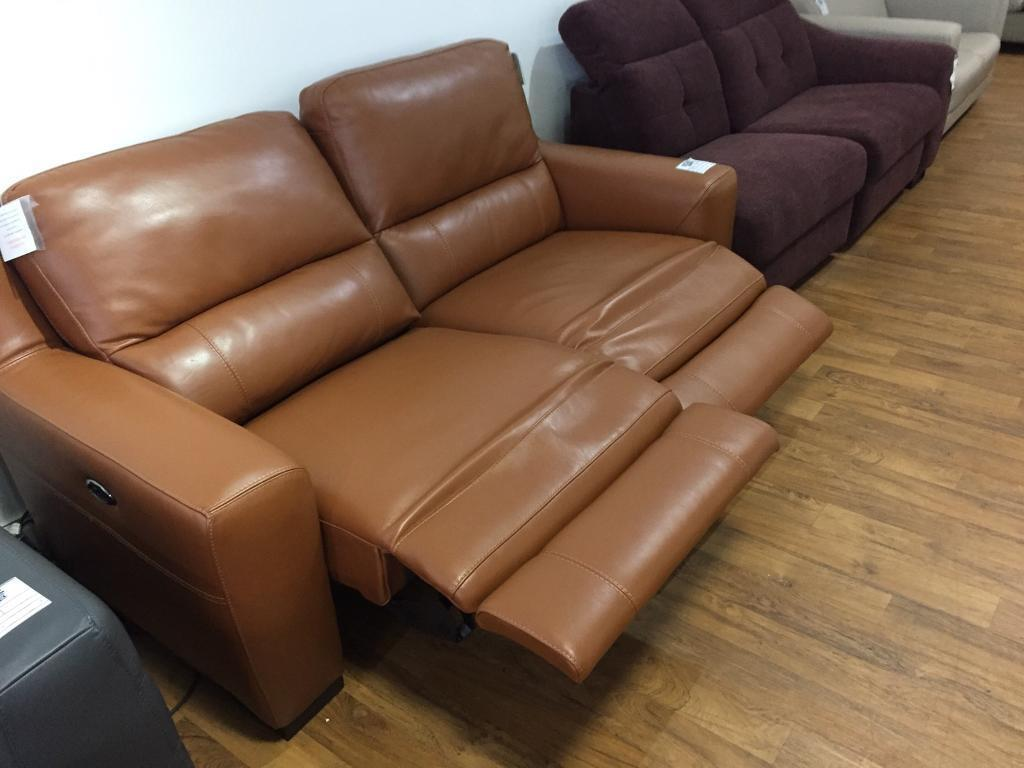 New rodeo power recliner