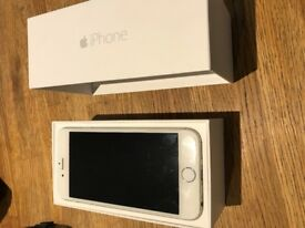 Iphone 6, silver in perfect condition