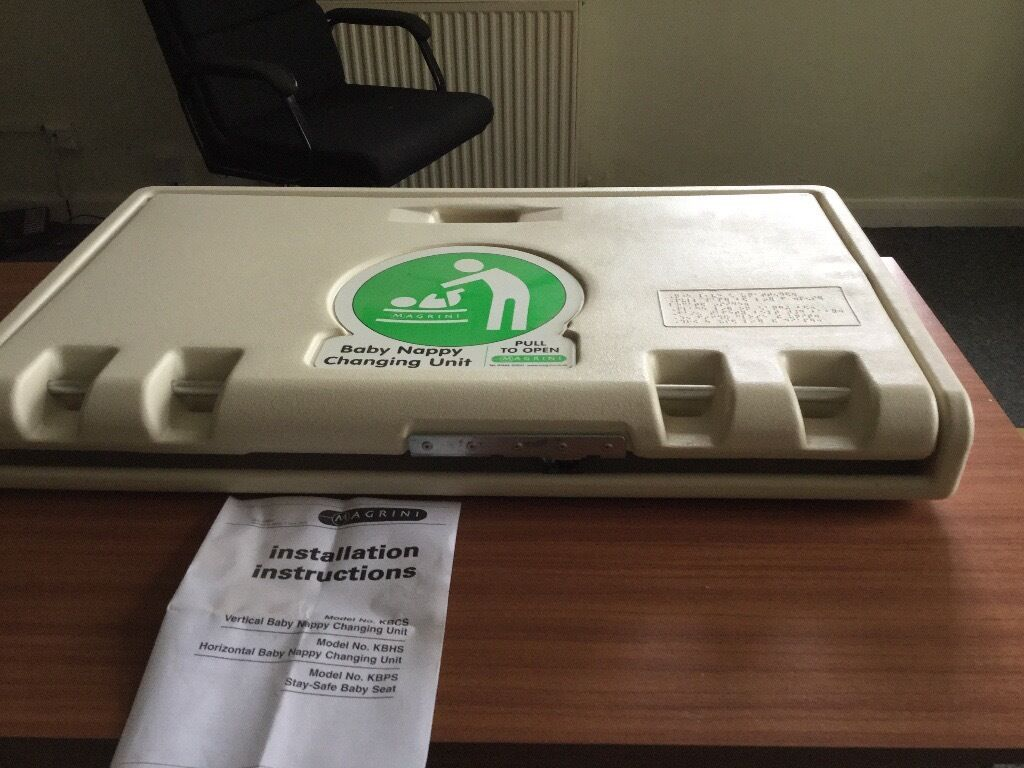 New Magrini Horizontal Baby Change Unit In Great