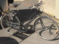 1960 Raleigh Vintage bike All steel bicycle