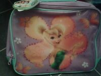 girls insulated lunch bag (green and purple fairy design)