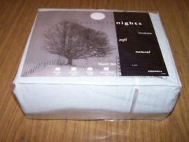 Northern Nights King size sheet set pale green Brand new in bag