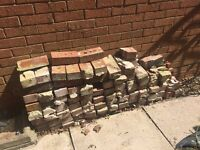 Red House Bricks (standard size) - FREE for collection