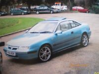 VAUXHALL CALIBRA SE6 1996 P REG 2 OWNER CAR GOOD CONDITION OWNED FOR PAST 20 YEARS