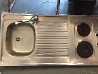 Nice sink with 2 hobs attached - Has to GO - Sale
