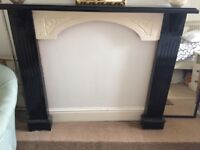 Carved Wooden Fireplace Surround