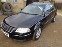 2005 Volkswagen Passat Highline 1.9 TDI Diesel Black Low Miles Long MOT Warranty Available