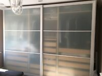 IKEA Double Door Wardrobes Includes Interior Carcass & PAX System