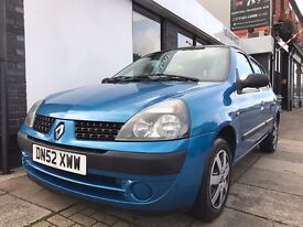 Renault Clio 1.2 16v Expression + 5dr ONLY 94180 GENUINE MILES