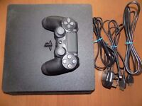 ps4 slim 500gb console look cheap working