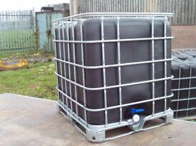 water tank 1000 litre tap at bottam