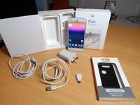 Google Pixel XL - 32GB - Very Silver (EE, T-Mobile, Orange) Android Smartphone