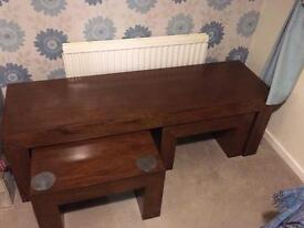 *REDUCED* Next Mango Wood Coffee Tables