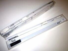 2 x Ikea Rationell Led Lighting Light White