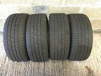 Continental Conti Winter Contact TS830 P Tyres x 4, 225/40/R18 92V 2 x 7mm tread 2 x 4mm tread