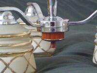 Retro 3 bulb chandelier