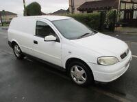 04 vauxhall astra van envoy cdti 1.7 diesel runs and drives well cheap van at £495!!!!