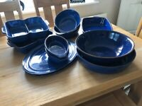 Imperial Blue Denby Serving Dishes