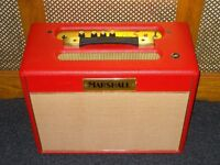 Marshall Class 5 valve combo Limited Edition red vinyl Model C5-01