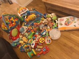 Bundle of baby toys, all in good working condition