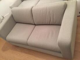 2 Seater Double Sofa Bed £250 (Habitat PORTO), GREAT Condition - minimal usage