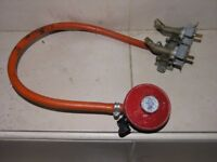 Calor Gas Regulator and Hose with connections Weymouth