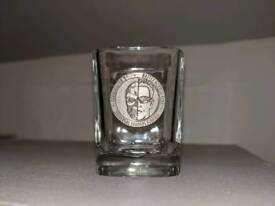 Terminator Battle across time souvenir shot glass