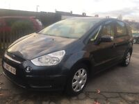 LHD 2007 FORD S-MAX 7 SEATER LOW MILEAGE