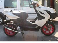 Yamaha Aerox 50cc Stage 6 Tuning Kit Fitted