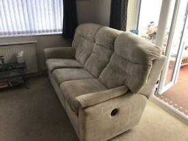 G plan recliner sofa settee