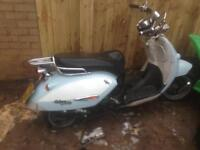 Aprillia Hannah custom stolen recovered 125cc