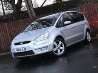 **TITANIUM** FORD S-MAX 1.8 TDCI 7 SEATER LONG MOT