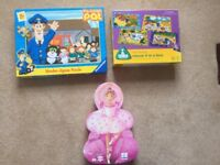 3 Jigsaw Puzzles for Children