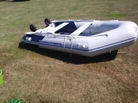 Hydroforce 3.3m rib with nearly new engine