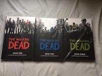 Walking dead hardback graphic novels