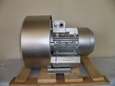 Regenerative Blower 2.0hp 76cfm 160h2o Press 220480v3ph Side Channel Blower