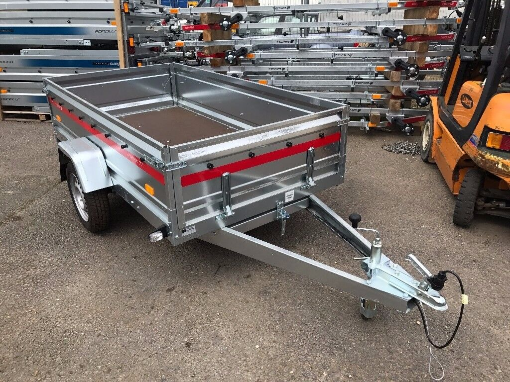 Brand new TEMA PRAKTI tiper trailer 750kg