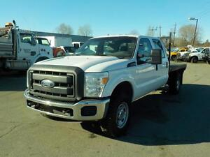 2012 Ford F-350 SD XL Crew Cab Long Bed Flat Deck 4WD