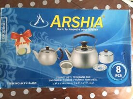 Teapot and kettle high quality boxed