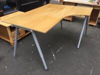 Large ikea galent corner desk