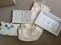 Unisex Nursery bedding set