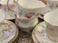 Elisabethan Morning Rose China Tea Set