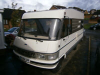 Hymer B534 Hypermobil Limited Edition A Class Camper Van Full MOT