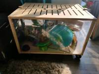 Hamster cage and other nits