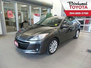 2012 Mazda MAZDA3 GT LEATHER/MOONROOF/HEATED SEATS