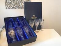 Gleneagles Lead Crystal Wine Glasses